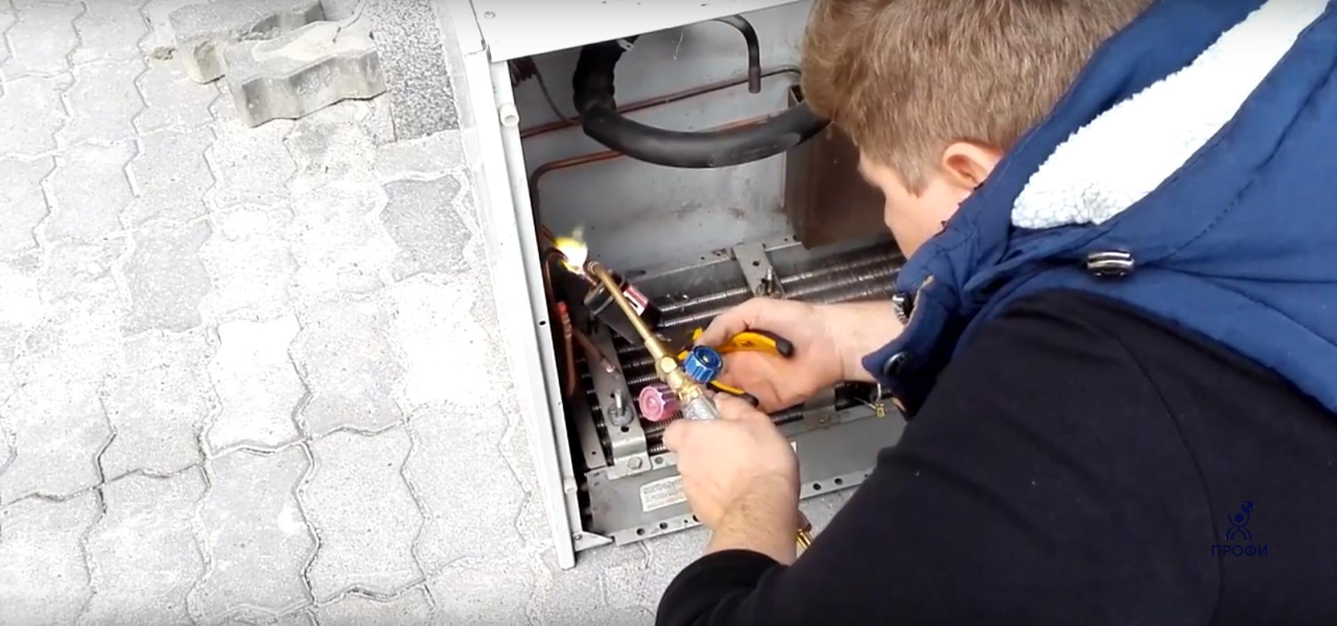 Повышение разряда механик по холодильному оборудованию